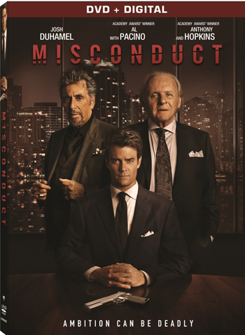 MISCONDUCT DVD OCARD